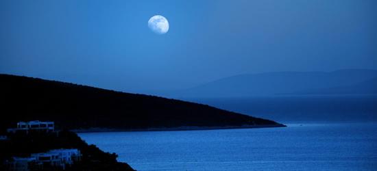 La Bahía de Orhaniye, Crepúsculo