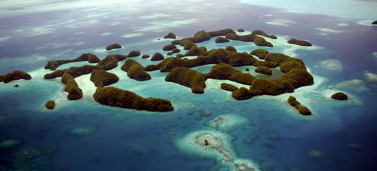 Las 70 Islas de Palau
