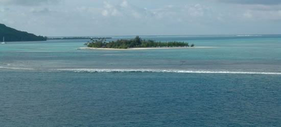 Laguna de Bora Bora, Tahití