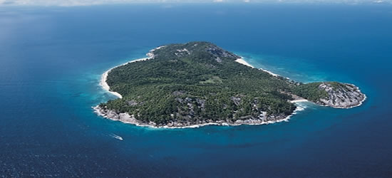 Veduta aerea delle Seychelles