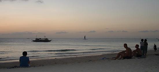 Crepúsculo, Boracay