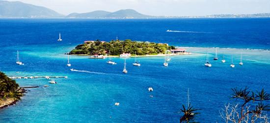 Marina Bay y Virgin Gorda, Islas Vírgenes Británicas