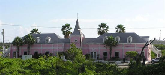 El Palacio de Justicia de Grand Turk