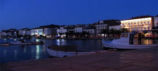 Pequeño puerto de las Islas Kornati