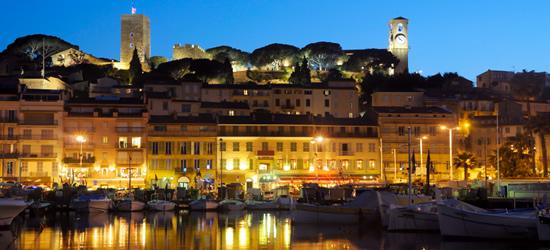 Cannes, sur de Francia