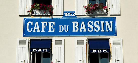 Cafe du Bassin, La Rochelle