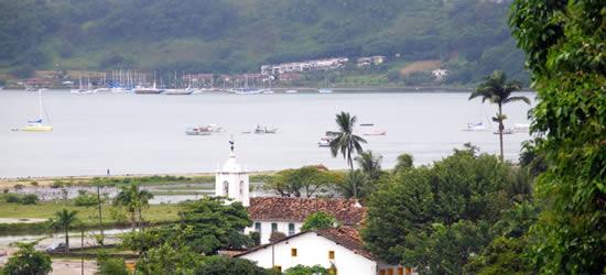 El pueblo colonial de Parati