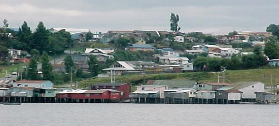 Castro, la capital de la isla de Chiloé
