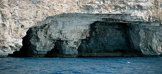 Cuevas Marinas de las Islas Kornati