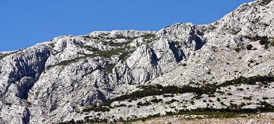 Montañas de Tucepi