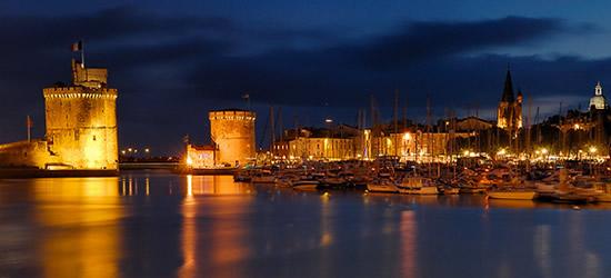 Noche Foto de La Rochelle