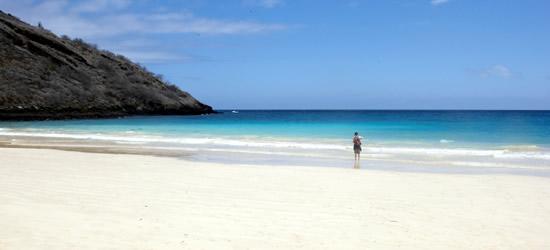 Arenas Blancas de las Galápagos