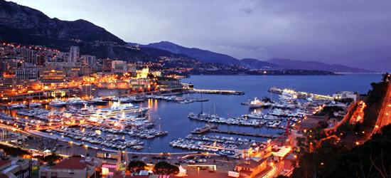 Con vistas al puerto de Mónaco