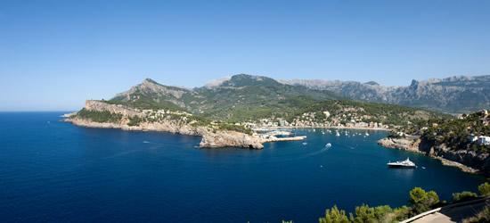Entrada de Port de Soller, Mallorca, Baleares