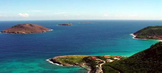 Costa tropical de St Barths