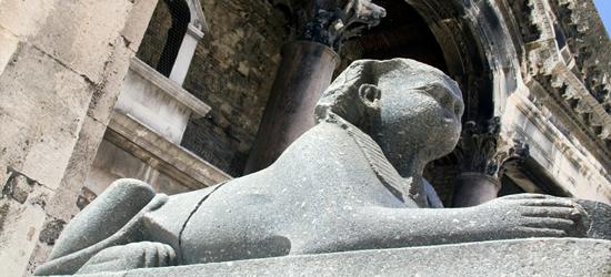 Esfinge, Palacio de Diocleciano, Split