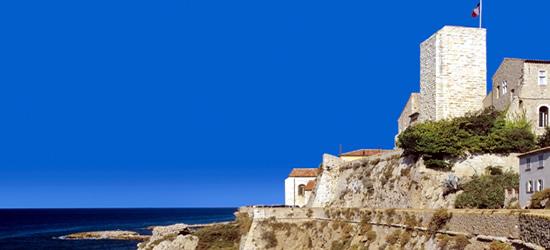 El casco antiguo de Antibes
