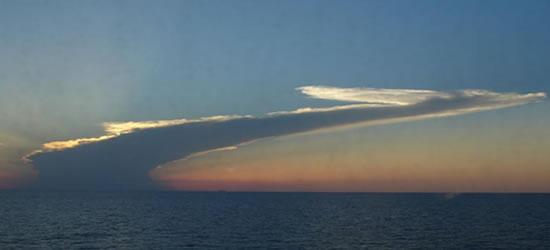 Nubes del Caribe