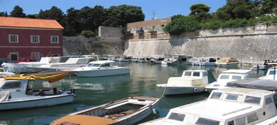 El puerto pesquero, Zadar
