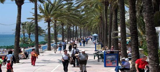 El Paseo Marítimo, Marbella