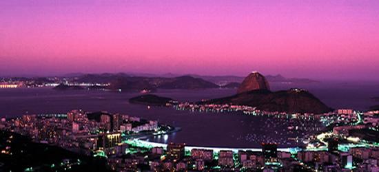 Vistas al puerto de Río de Janeiro