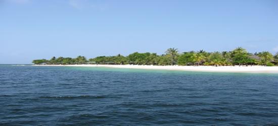 La costa oeste de St Lucia