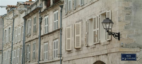 El casco antiguo de La Rochelle
