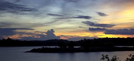 Luces del crepúsculo, Mozambique