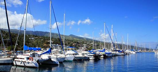 Papeete Marina, Tahití