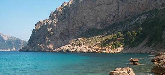 La costa norte de Mallorca