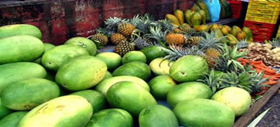 Mercado de fruta, Belice
