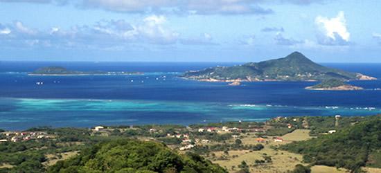 Petite Martinique desde Carriacou