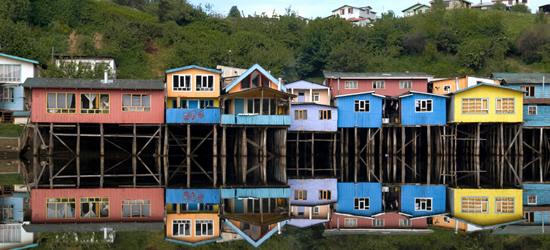 Palafitos, Chiloe, Chile