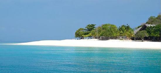La hermosa isla Dimakya, Palawan