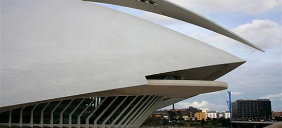 El Palacio de las Artes, Valencia