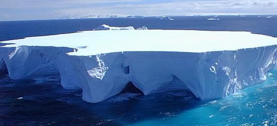 Una isla flotante