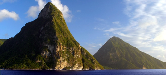 Montañas Pitons, St Lucia