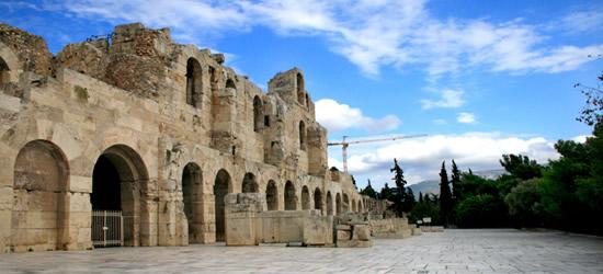 Teatro Herodes Atticus, Atenas