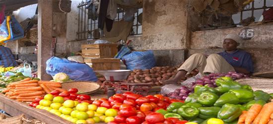 Mercado de fruta y verdura, Zanzibar