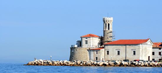Iglesia en Piran
