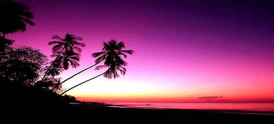 Puesta de sol cubana