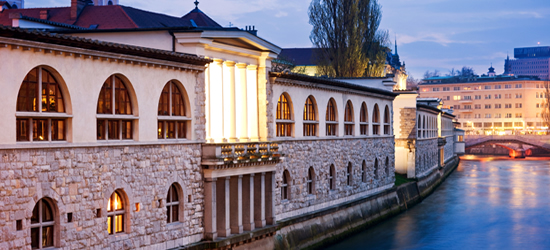 Río Ljubljanica, Eslovenia