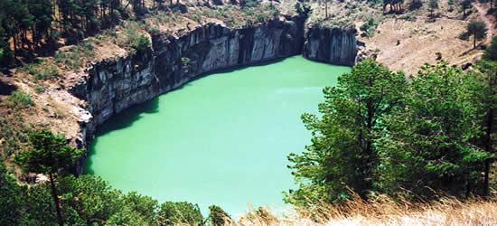 El romántico Lago Tritriva