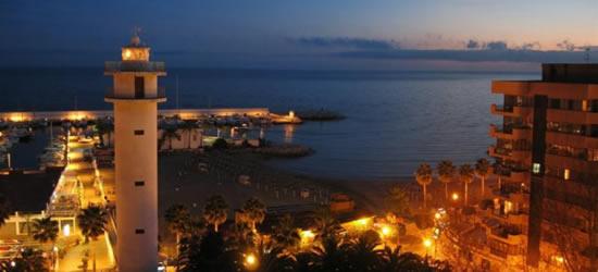 Marbella en la noche