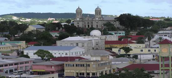 La Capital de Antigüa, St Johns