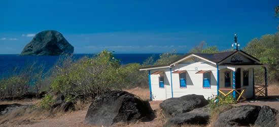 Casa en la playa, Martinica