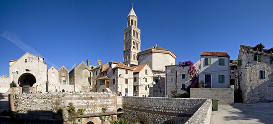 El casco antiguo de Split