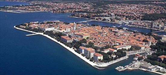 Vista aérea de Zadar