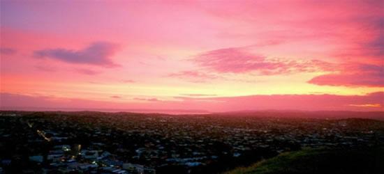 Atardecer de Auckland