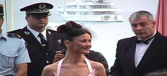 Catherine Zeta Jones en el Festival de Cine de Cannes